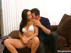 Jordan Ash stretches loved Katsunis cleft in the matter of