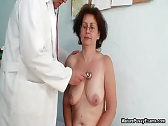 Mischievous old grandma gets her tight part1