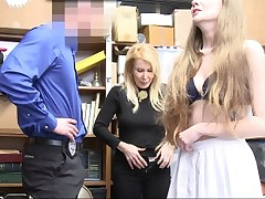 ShopLyfter-Granddaughter And Grandma Get Caught Shoplifting