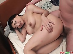 Miho Wakabayashi Deep throats In Point of view And Gets Creampied