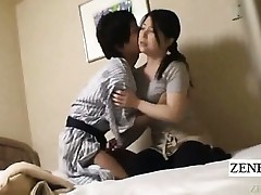 Subtitle Japanese milf handjob motel rubdown gone wrong